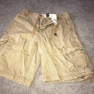 Tan Shorts.  Sz 33. Aeropostale. MUST BUNDLE